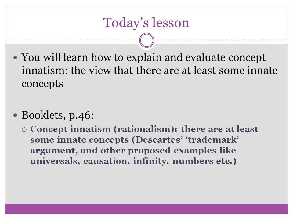 Rationalism and empiricism: Co...