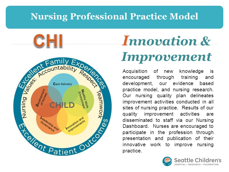 Nursing Professional Practice Model Innovation & Improvement