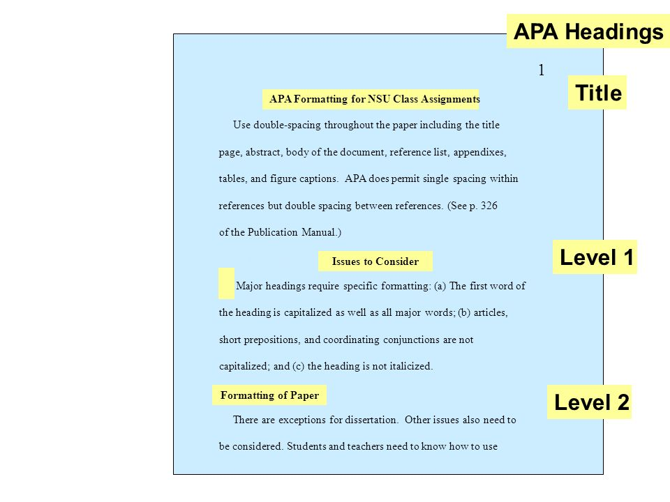 APA Formatting: Preparing for Final Review - ppt video online download