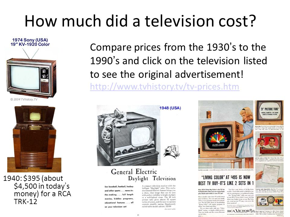 The History of Television - ppt video online download