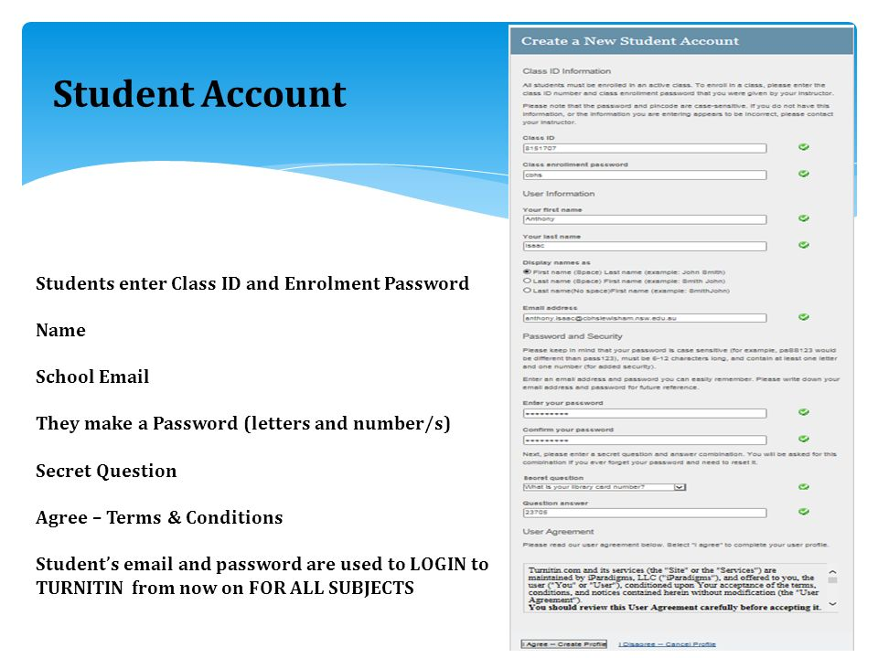 TURNITIN Step by step……… Instructors  - ppt video online