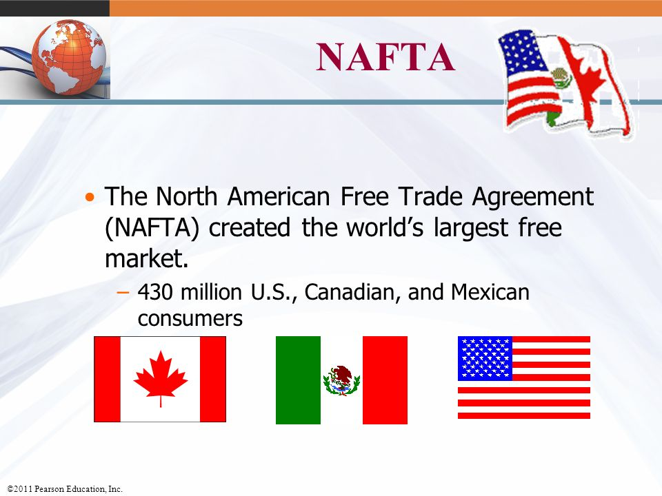a history of the nafta agreement in north america The north american free trade agreement (nafta) went into effect on january 1, 1994 between the united states, mexico and canada negotiated behind closed doors with hundreds of official corporate advisors, nafta was radically different than past trade deals that focused on traditional trade matters, like cutting border taxes.