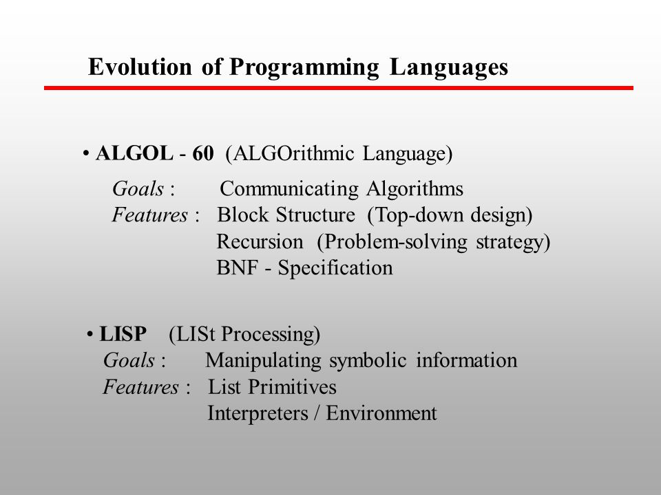 Structure Of Programming Languages Ppt Video Online Download