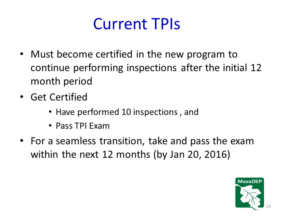 Massdep Underground Storage Tank Program Program Requirements For