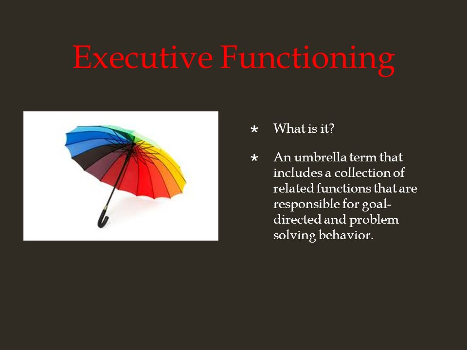 executive functioning autism strategies