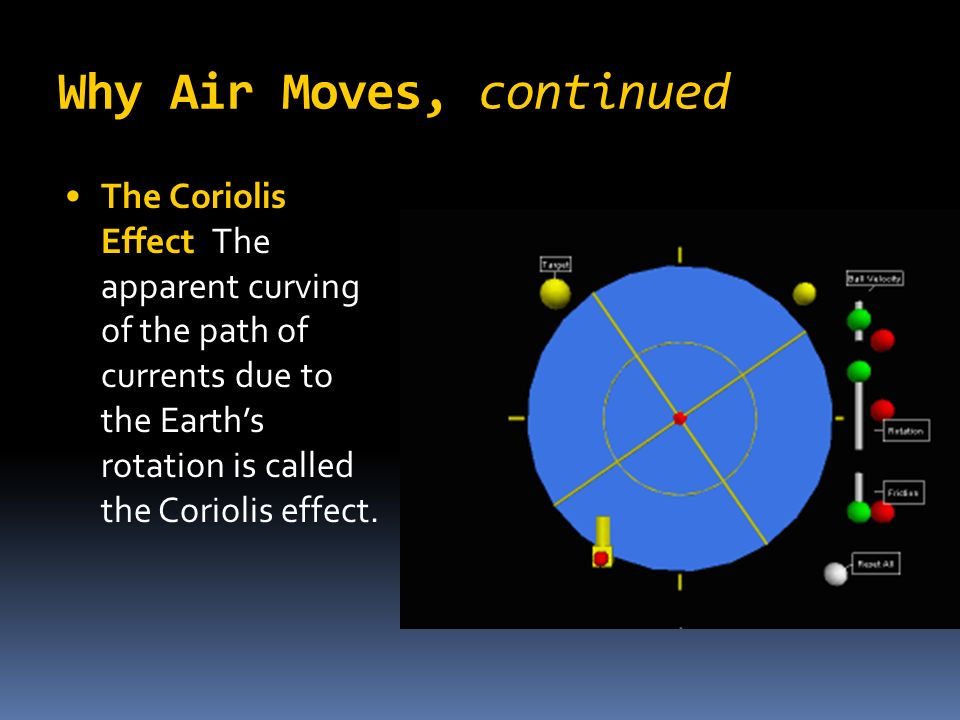 Why Air Moves, continued