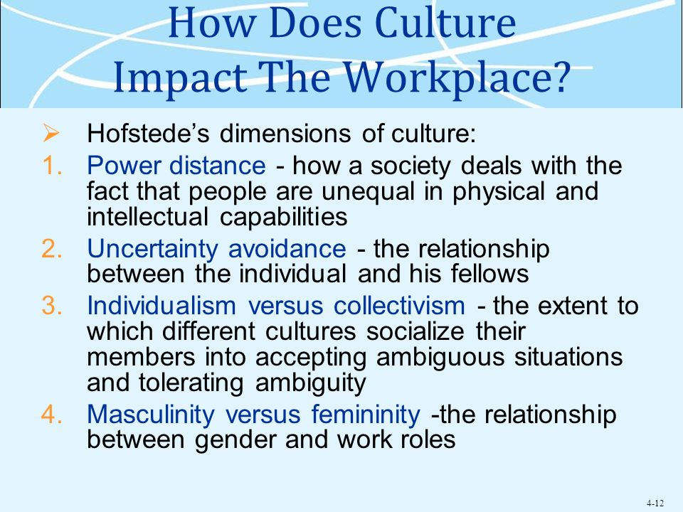 How Does Culture Impact The Workplace