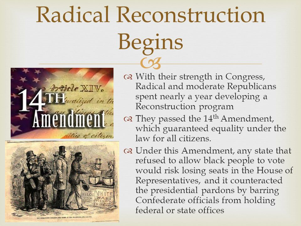 The Reconstruction Era Ppt Download