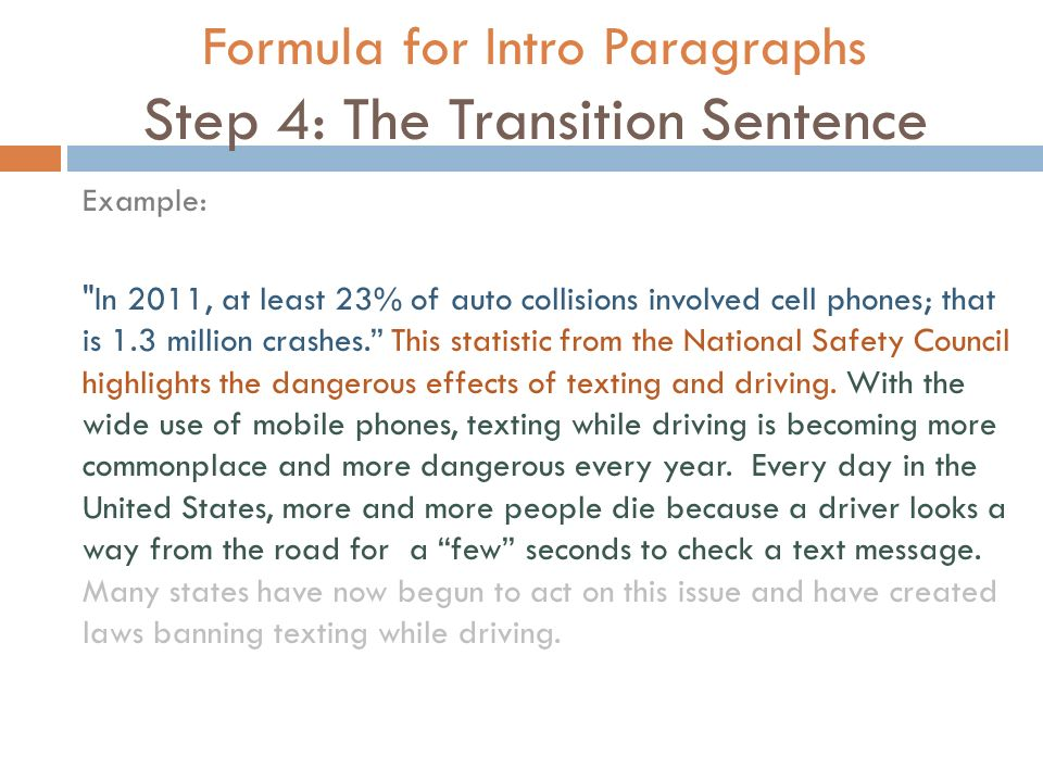 what is an intro paragraph