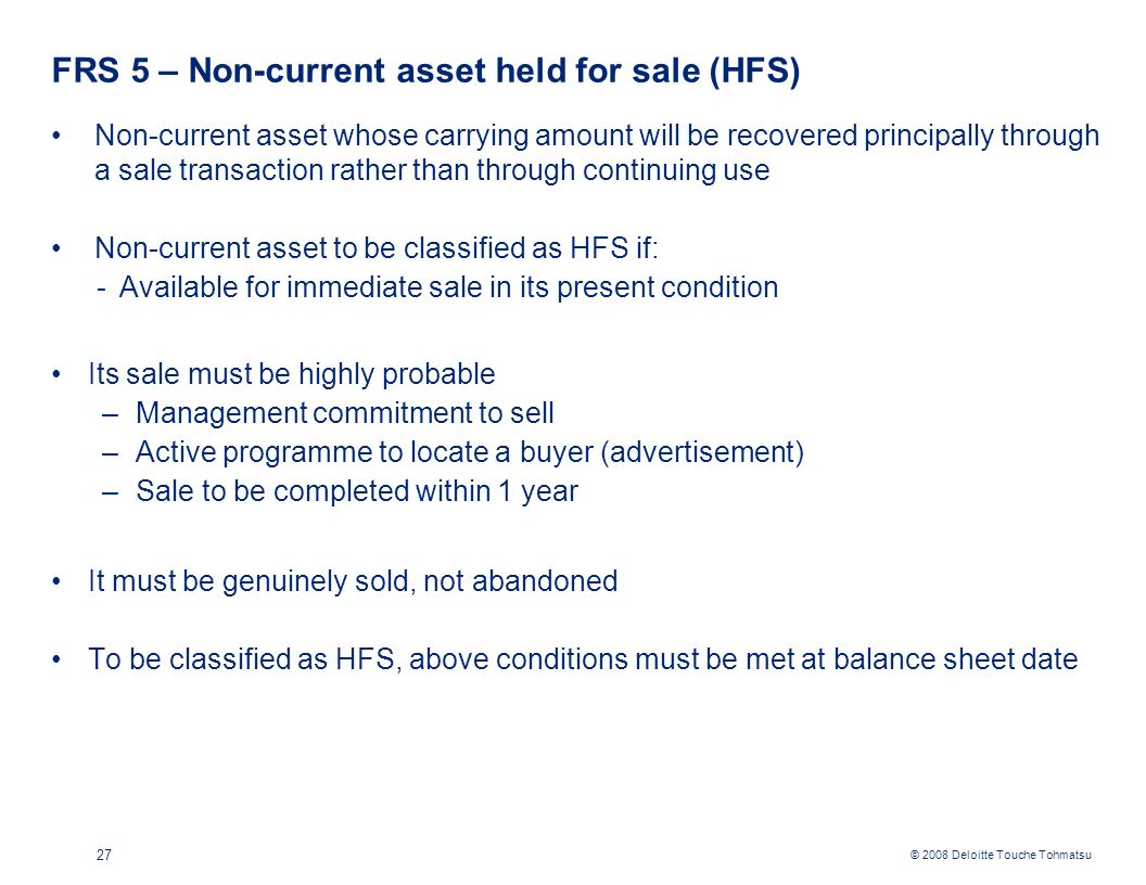 The Impact of FRS on Taxation - ppt download
