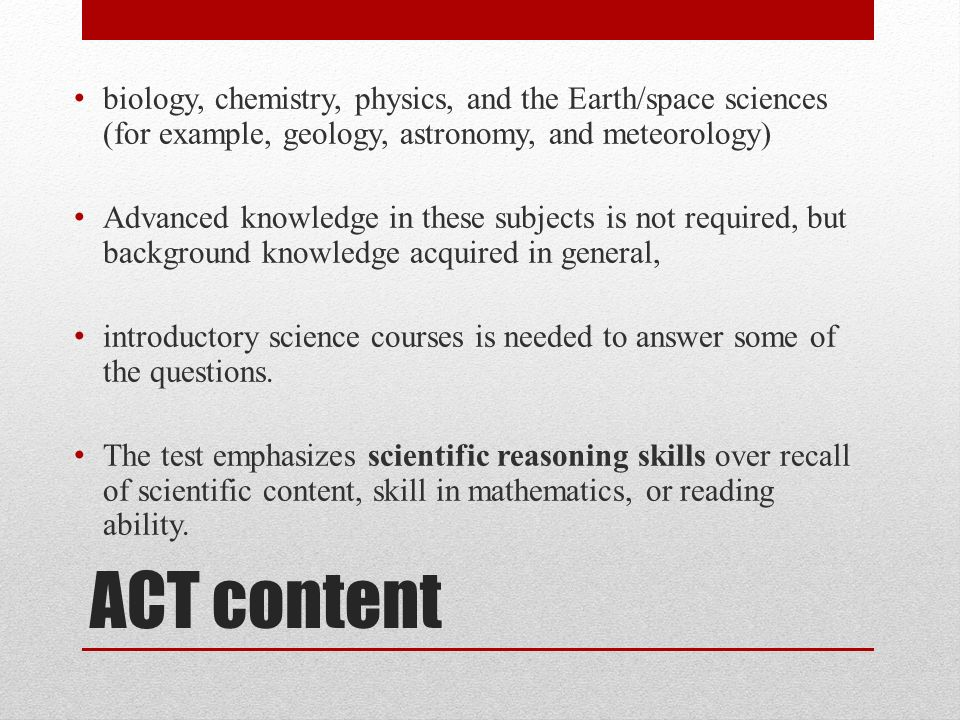 ACT Science Prep Tips and Tricks  - ppt video online download