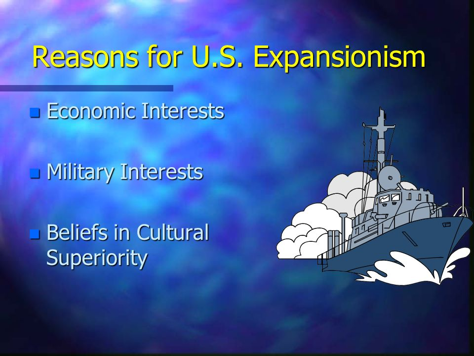 Reasons for U.S. Expansionism
