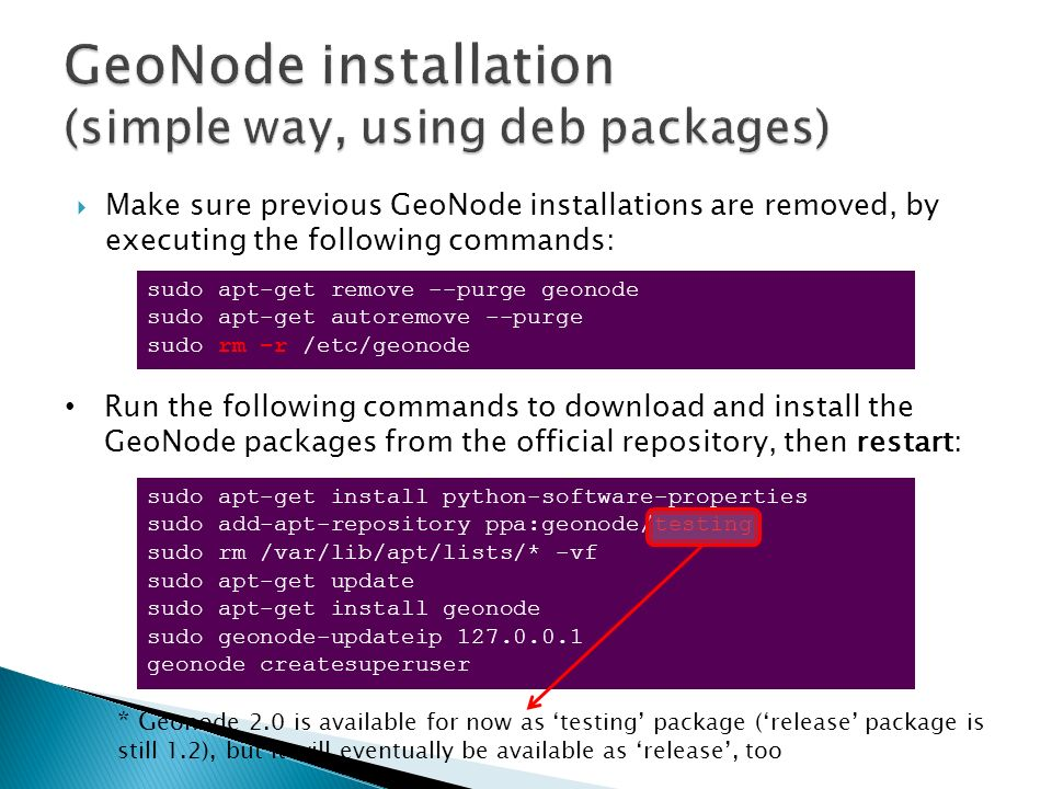 GeoNode Installation and Configuration - ppt video online download