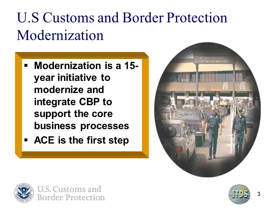 U S  Customs and Border Protection Update: Automated Commercial