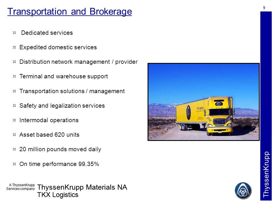 TKX Logistics TMACOG – Ohio Conference on Freight Tuesday September