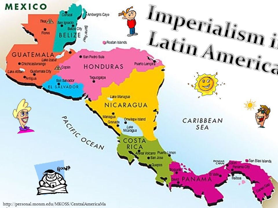 Imperialism In Latin America Map.Bell Work What Do You Think The Effect Of Imperialism Had On Latin