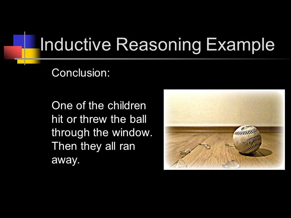 Inductive Reasoning Example