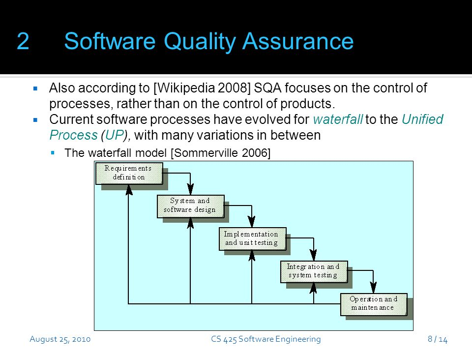 Notes on software quality ppt download cs 425 software engineering ccuart Gallery