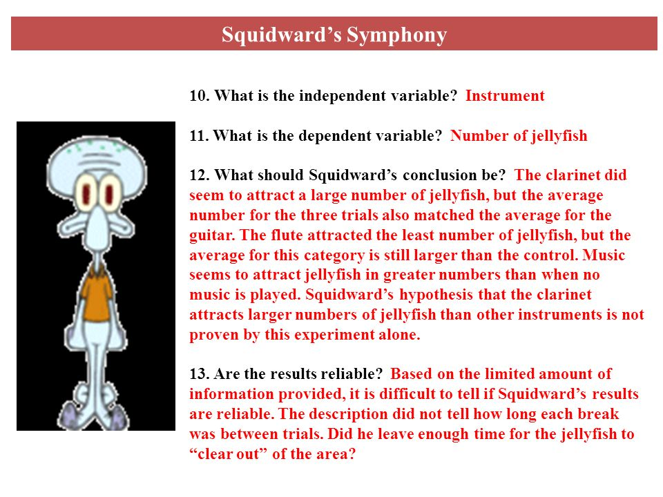 Scientific method controls and variables spongebob worksheet answers