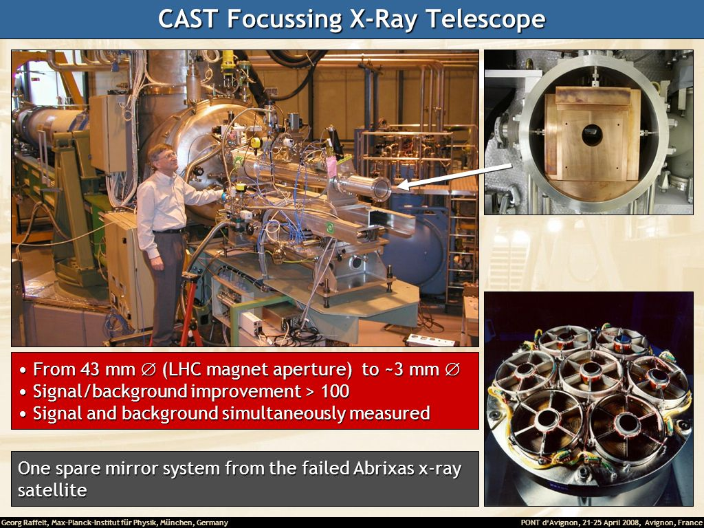 CAST Focussing X-Ray Telescope