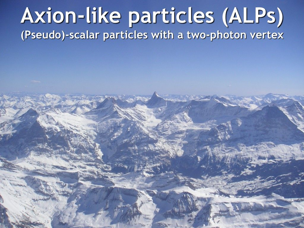 Axion-like particles (ALPs)