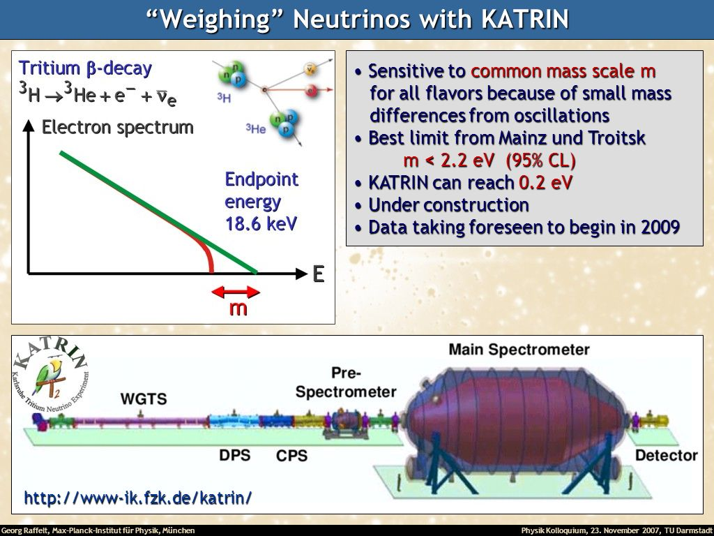 Weighing Neutrinos with KATRIN