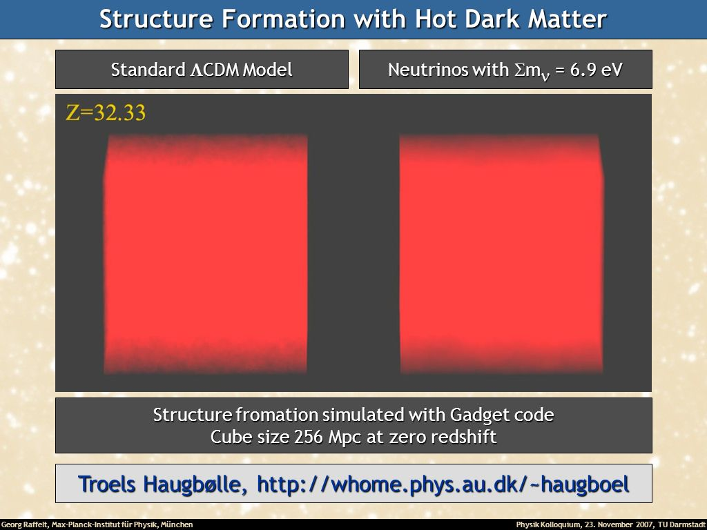 Structure Formation with Hot Dark Matter