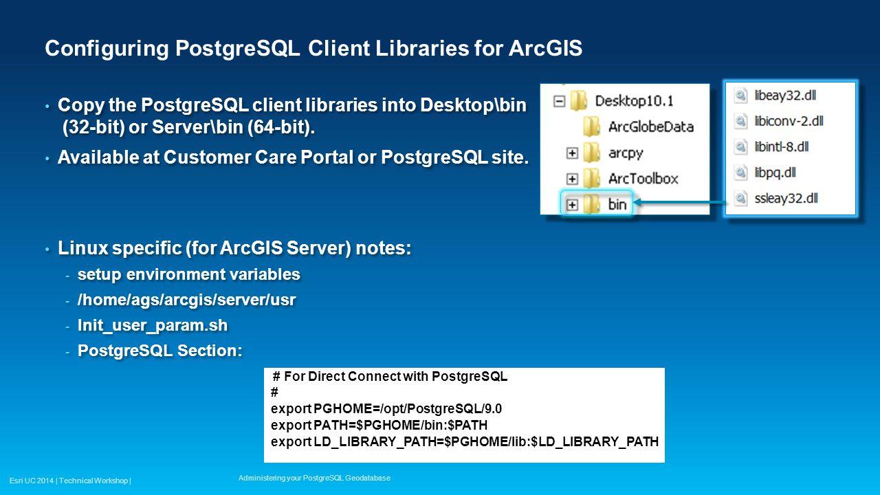 Administering your PostgreSQL Geodatabase - ppt video online download