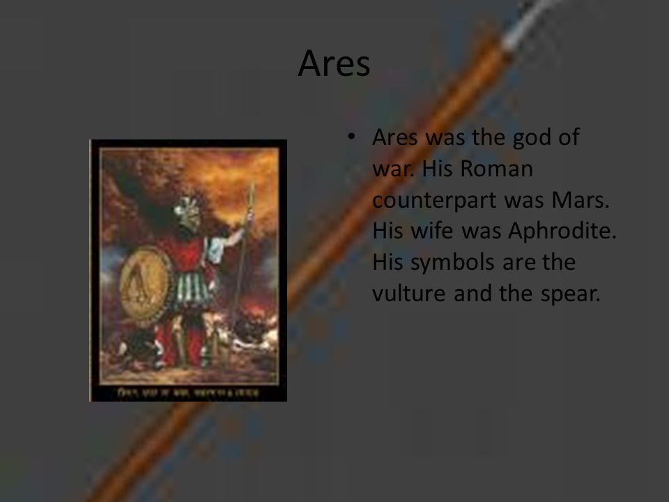 Ares God Of War Symbol Meaning Sfb