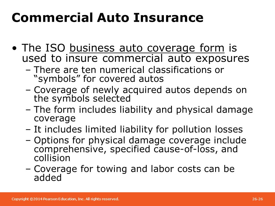 Chapter 26 Commercial Liability Insurance Ppt Video Online Download