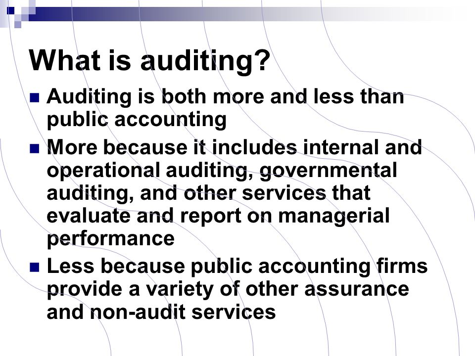 importance of audit report