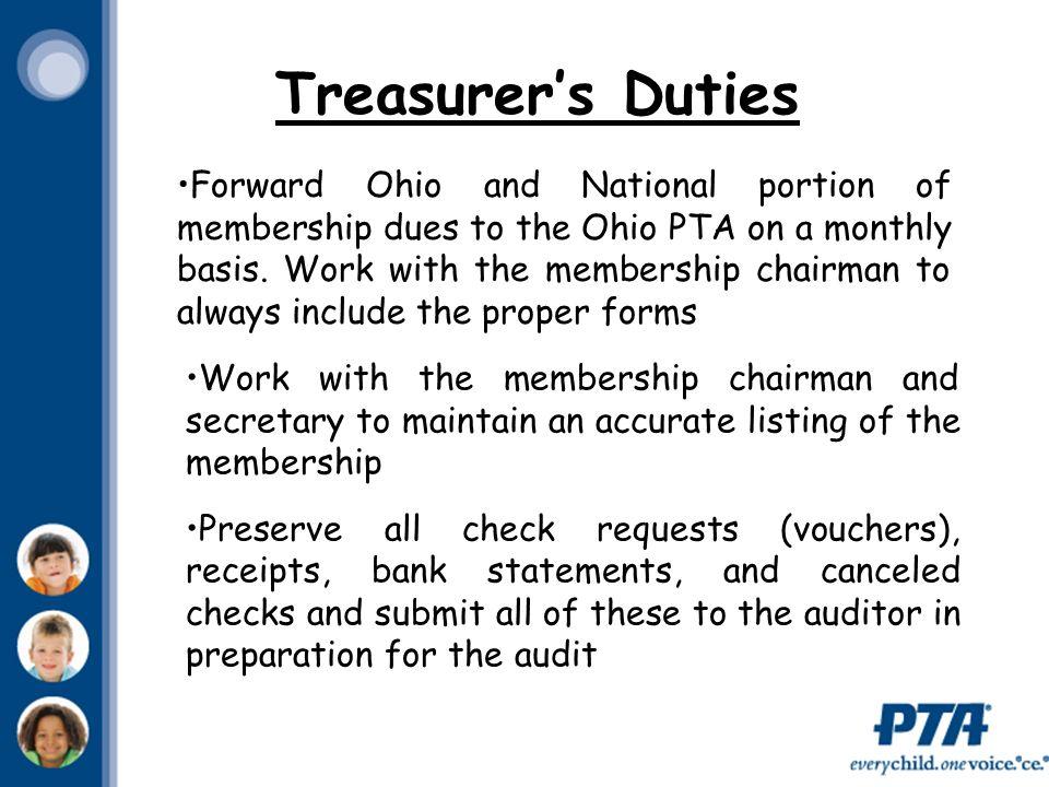 Ohio PTA Treasurer Workshop  - ppt video online download