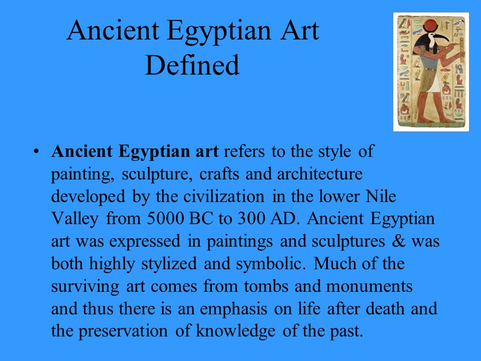 The Art Of Ancient Egypt Ppt Video Online Download