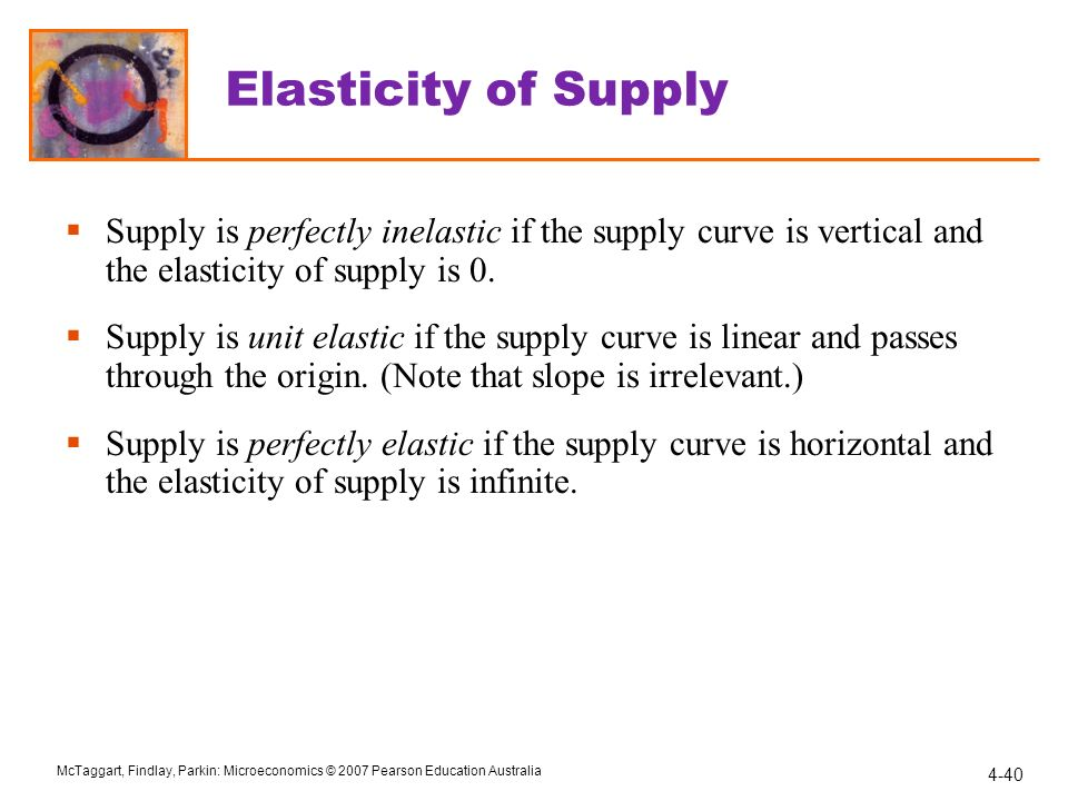 Chapter 4 Elasticity Ppt Video Online Download