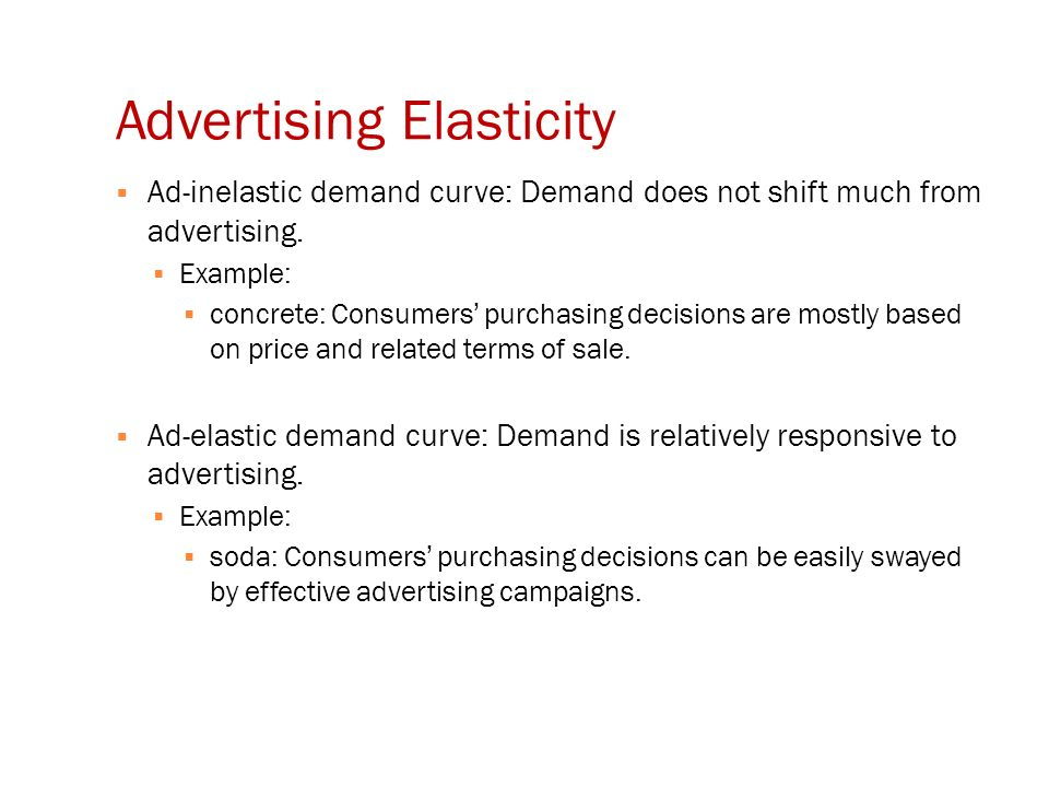 Lecture 3 Advertising Elasticies Ppt Video Online Download