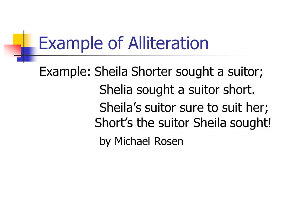 List Of Alliteration Examples Image Collections Example Cover