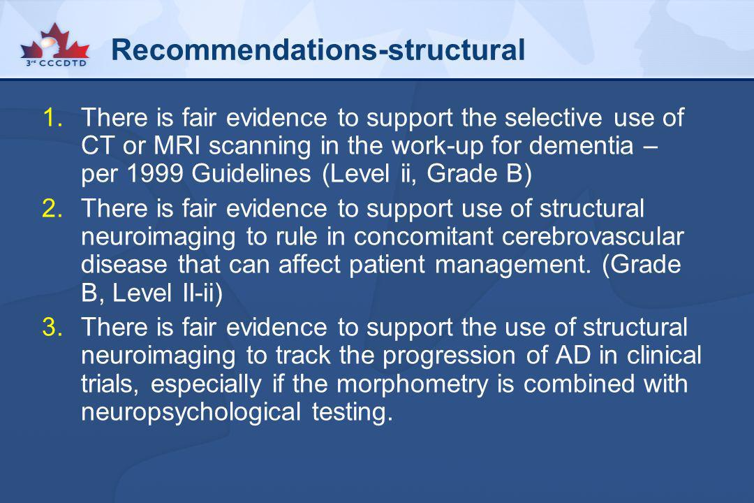 Recommendations-structural