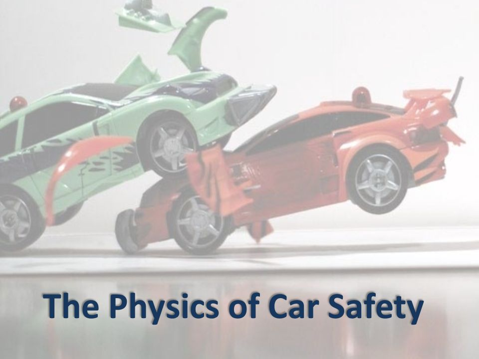 physics and car safety