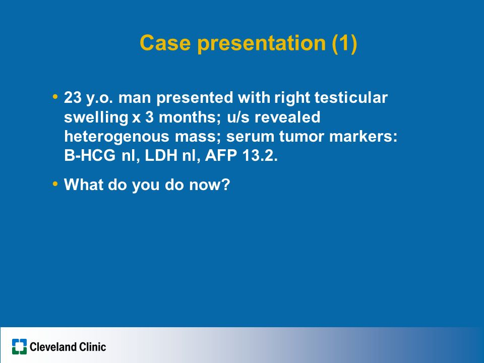 Understanding Testicular Cancer: A MUST for the Medical Oncologist