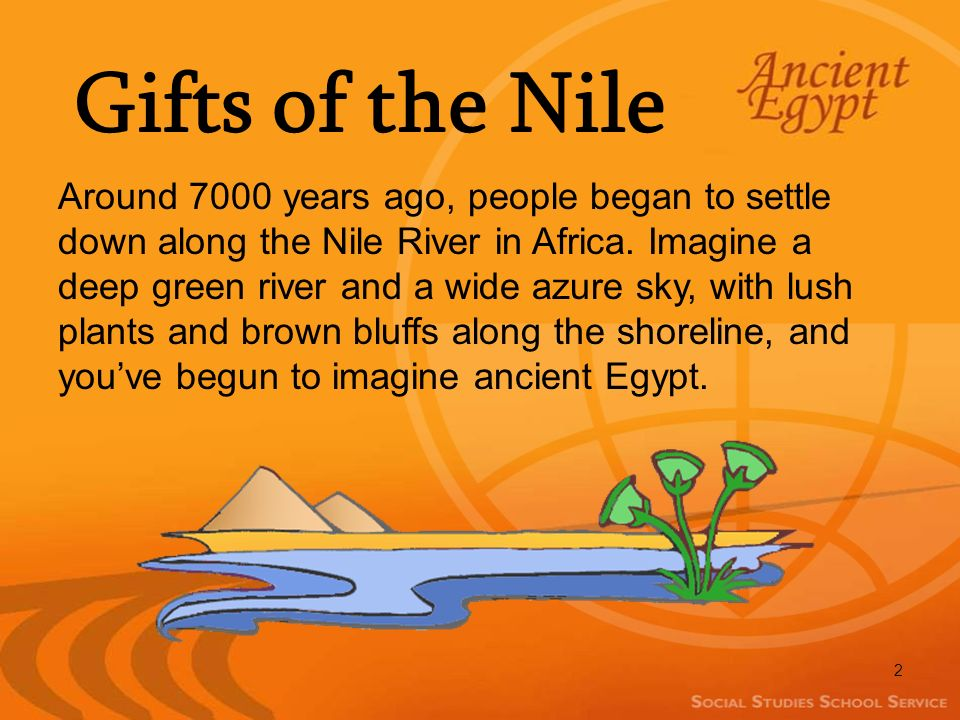 The Gift Of The Nile River Ancient Egypt - Gift Ideas