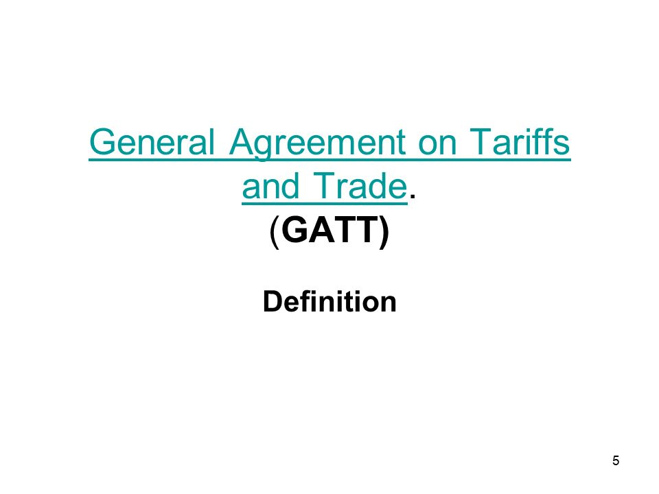 critically evaluate the role of gatt wto in trade liberalization Which to evaluate the gatt/wto and pta approaches to trade liberalization, and from this perspective we interpret the recent developments in the world trading system and provide initial answers to the questions posed above.