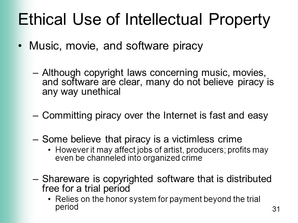 Computers: Legal and Ethical aspects - ppt video online download