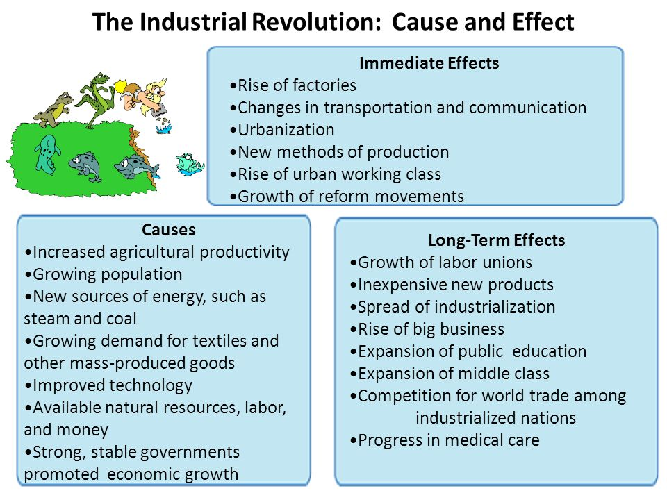 The Industrial Revolution: Cause and Effect