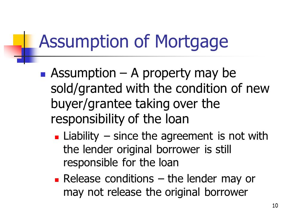 Assumption Of Mortgage Agreement Image Collections Agreement