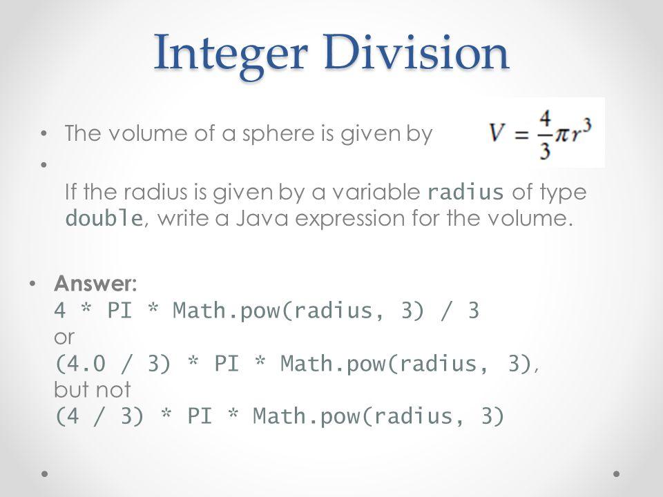 Image result for integer division