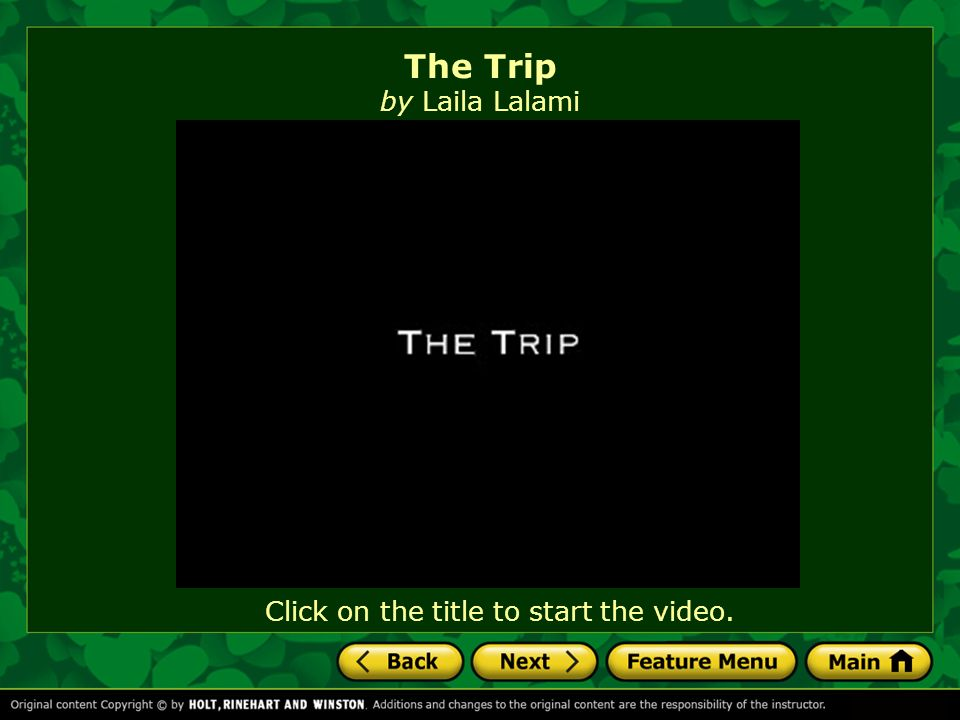 the trip by laila lalami