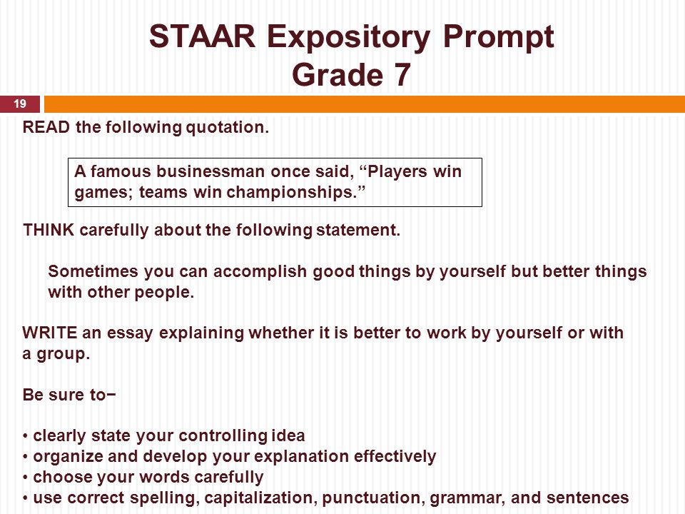 Science Topics For Essays Staar Expository Essay Prompts Th Grade Academic Writing Compare And Contrast High School And College Essay also Thesis Statement Examples For Argumentative Essays Expository Essay Topics For Grade   Mistyhamel Political Science Essay