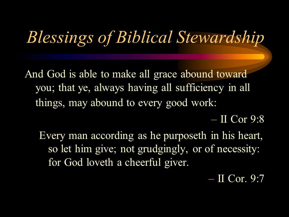 Stewardship: a biblical mandate ppt video online download.