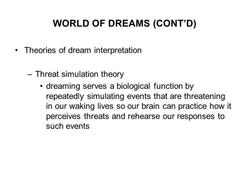 biological dream theory