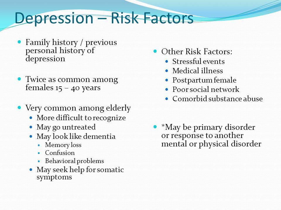 andrew solomon \u201cdepression, the secret we share\u201d watch a video pptdepression \u2013 risk factors